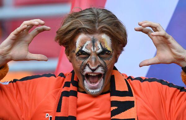 Cổ động viên đội tuyển quốc gia Hà Lan trước khi bắt đầu trận đấu Hà Lan - Ukraina - Sputnik Việt Nam