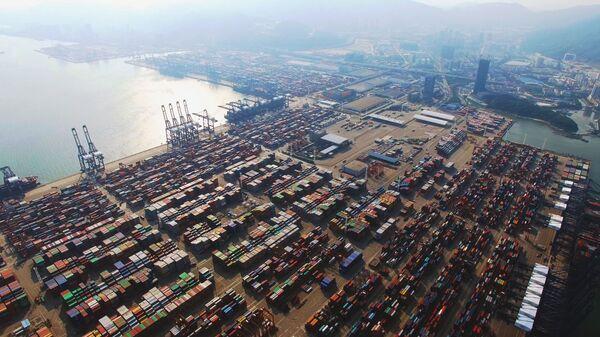 Quang cảnh cảng Yantian của Trung Quốc. - Sputnik Việt Nam
