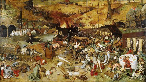 Bức tranh Chiến thắng của cái chết của Pieter Bruegel the Elder - Sputnik Việt Nam