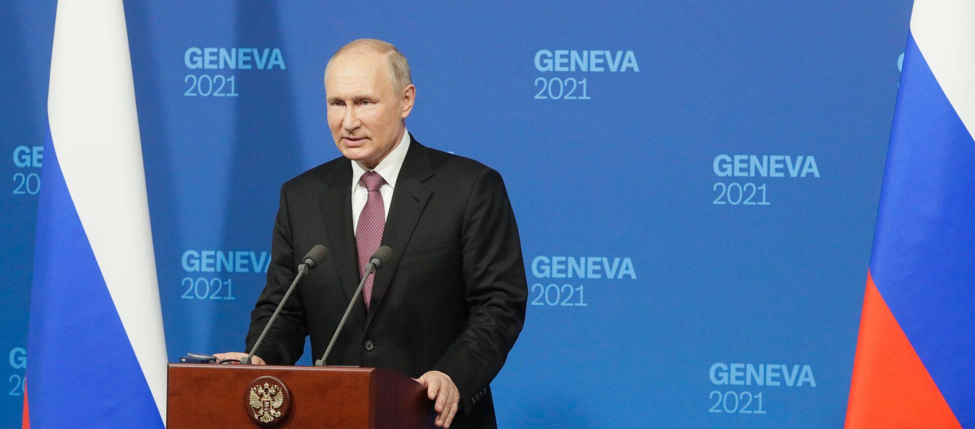 Geneva vào đêm trước hội nghị thượng đỉnh của Tổng thống Nga V.Putin và Tổng thống Mỹ J. Biden - Sputnik Việt Nam, 1920, 16.06.2021