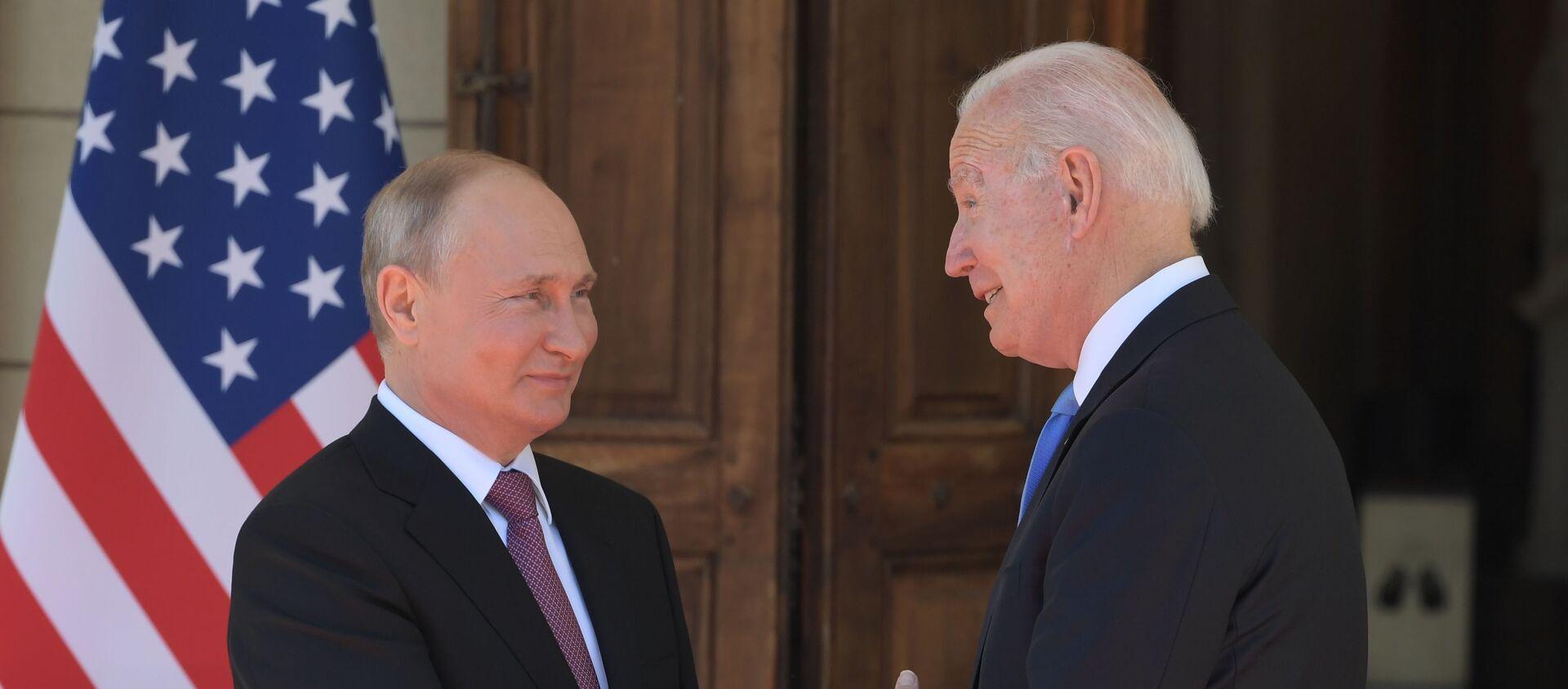 Putin gặp Biden ở Geneva - Sputnik Việt Nam, 1920, 17.06.2021