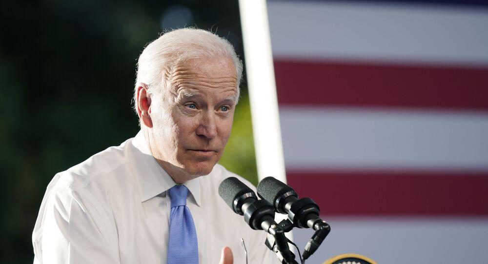 Tổng thống Hoa Kỳ Joe Biden phát biểu tại họp báo sau cuộc gặp với Tổng thống Nga Vladimir Putin ở Geneva (Thụy Sĩ).
