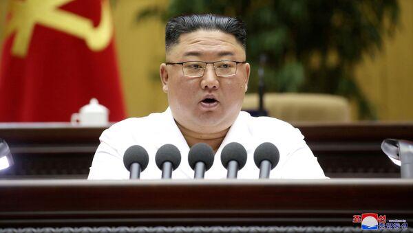 Nhà lãnh đạo Bắc Triều Tiên Kim Jong-un. - Sputnik Việt Nam