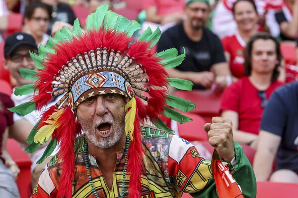 Người hâm mộ Bồ Đào Nha tại trận đấu bảng F Euro 2020 giữa Hungary và Bồ Đào Nha - Sputnik Việt Nam
