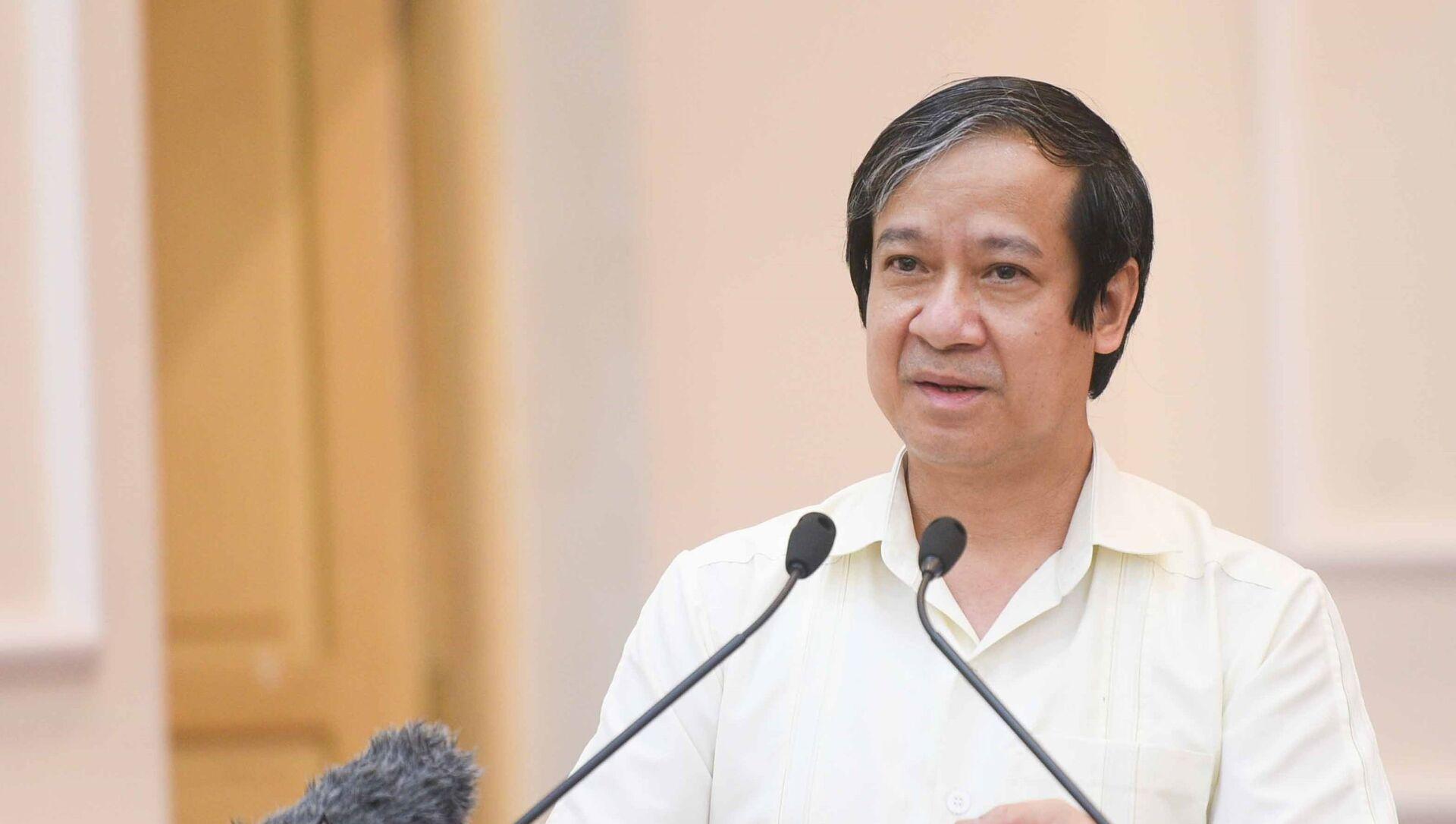 Bộ trưởng Bộ giáo dục và đào tạo Nguyễn Kim Sơn - Sputnik Việt Nam, 1920, 18.06.2021