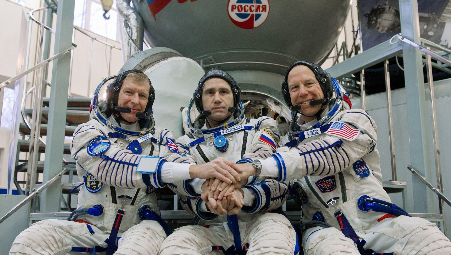 ISS Expedition 46/47 trong đào tạo - Sputnik Việt Nam, 1920, 19.06.2021