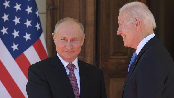Cuộc gặp của Tổng thống Nga và Hoa Kỳ V.Putin và J.B Biden tại Geneva - Sputnik Việt Nam