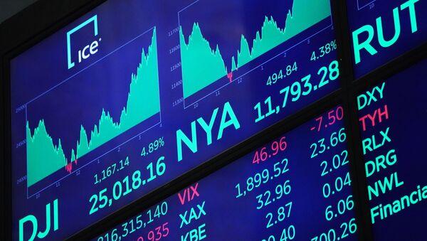 Sàn giao dịch chứng khoán New York - Sputnik Việt Nam