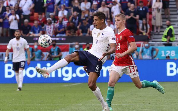 Trận đấu vòng bảng của Giải Vô địch Bóng đá châu Âu EURO 2020 giữa đội tuyển Hungary và đội tuyển Pháp - Sputnik Việt Nam