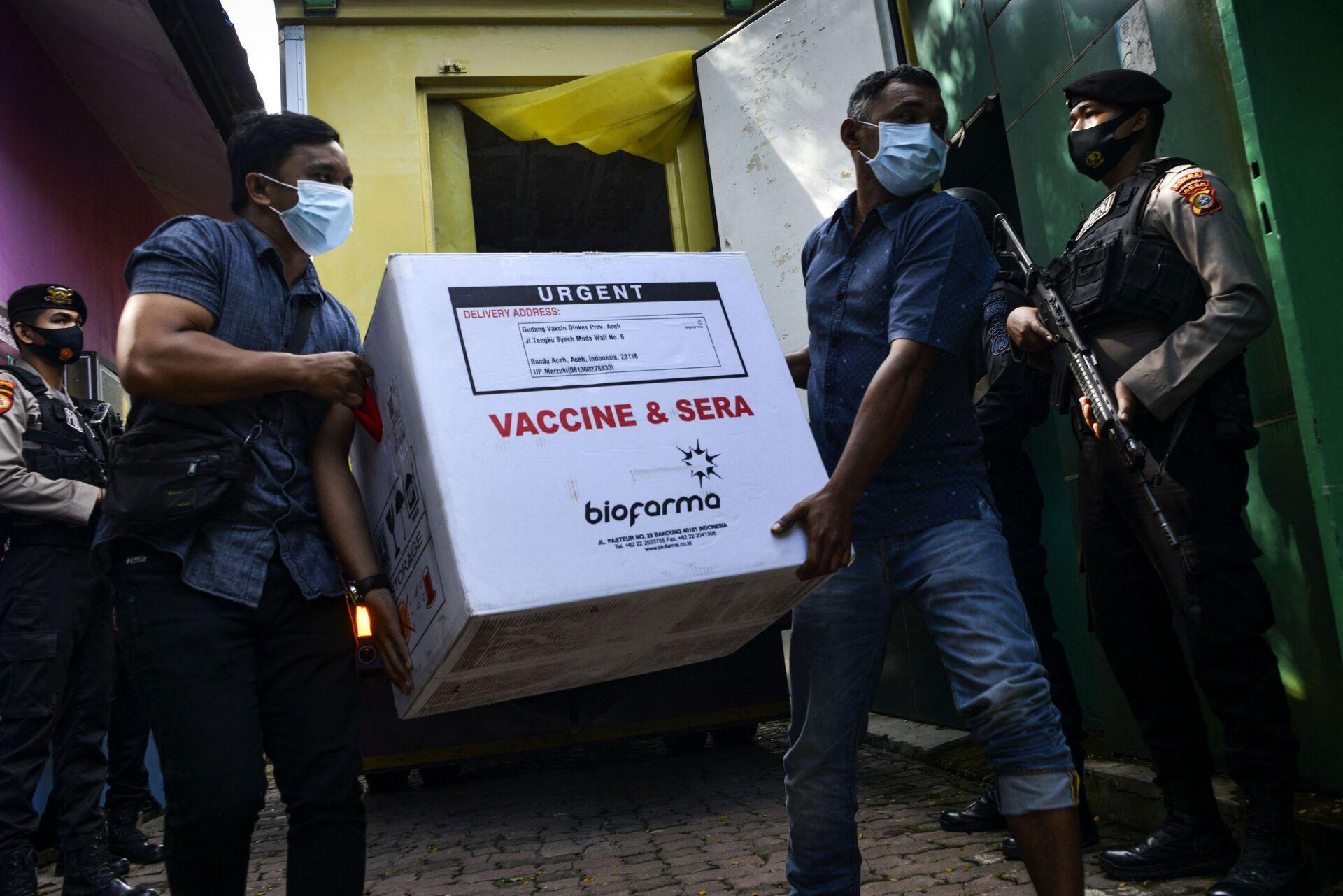 Thêm lô vaccine Trung Quốc được giao cho Indonesia - Sputnik Việt Nam, 1920, 21.06.2021