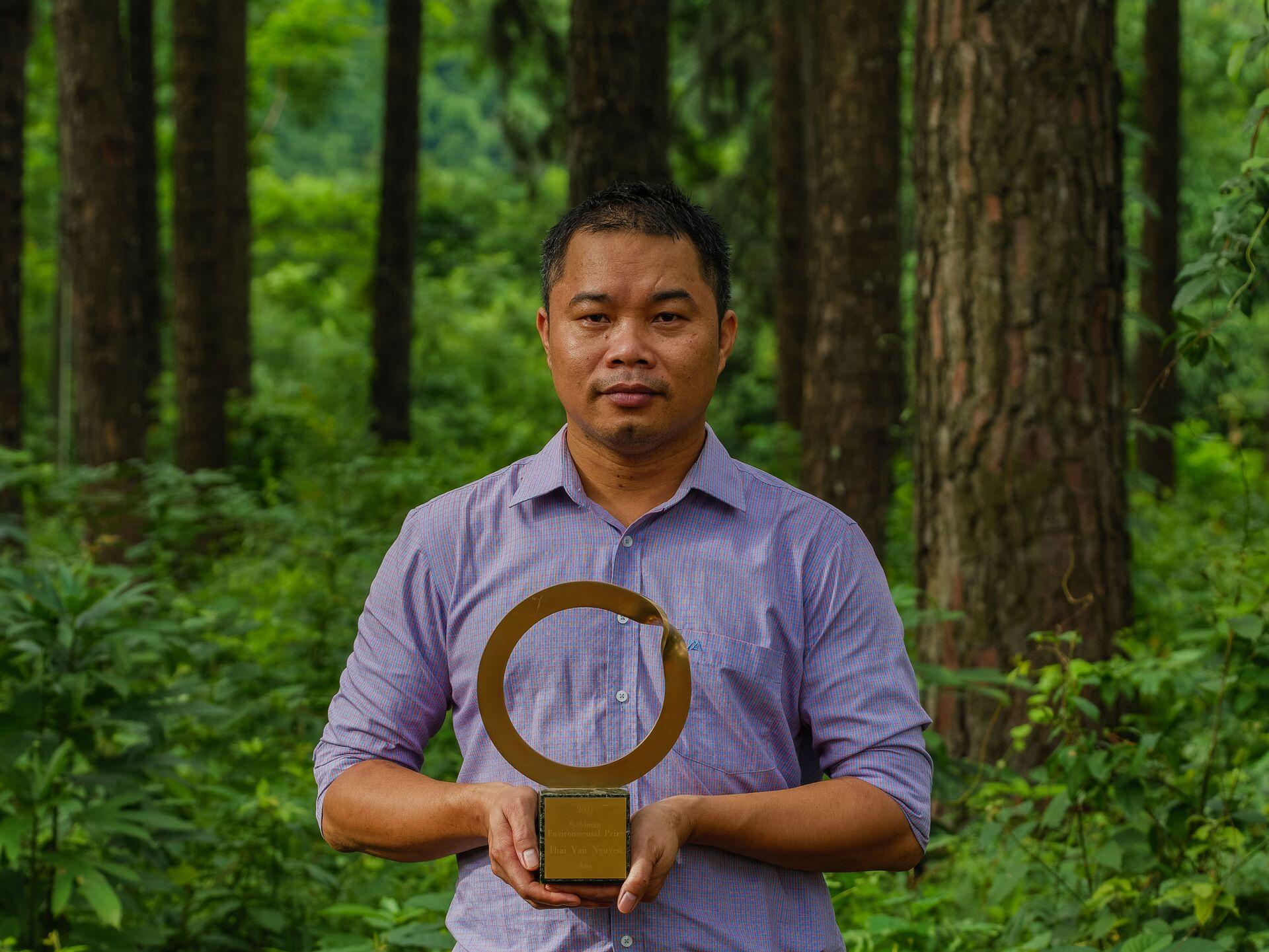 Từ người yêu rừng đến hành trình chinh phục Giải thưởng Môi trường Goldman 2021 - Sputnik Việt Nam, 1920, 21.06.2021