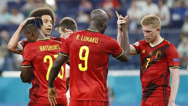 Đội tuyển Bỉ sau trận đấu với đội tuyển Phần Lan - Sputnik Việt Nam