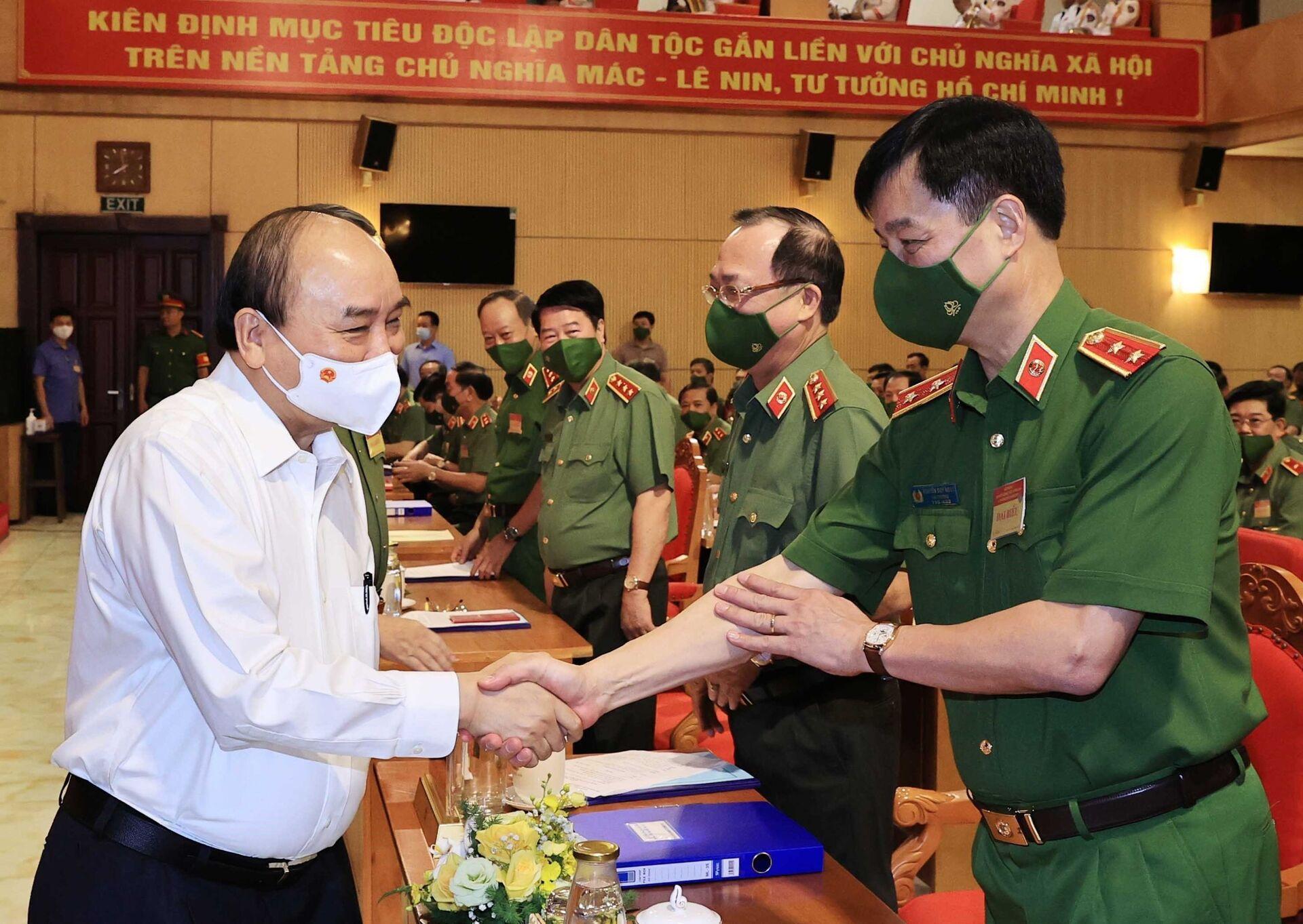 Chủ tịch nước: Kiên quyết thay thế người đứng đầu nếu để tội phạm lộng hành - Sputnik Việt Nam, 1920, 22.06.2021