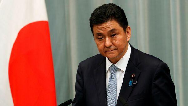 Bộ trưởng Quốc phòng Nhật Bản Nobuo Kishi. - Sputnik Việt Nam
