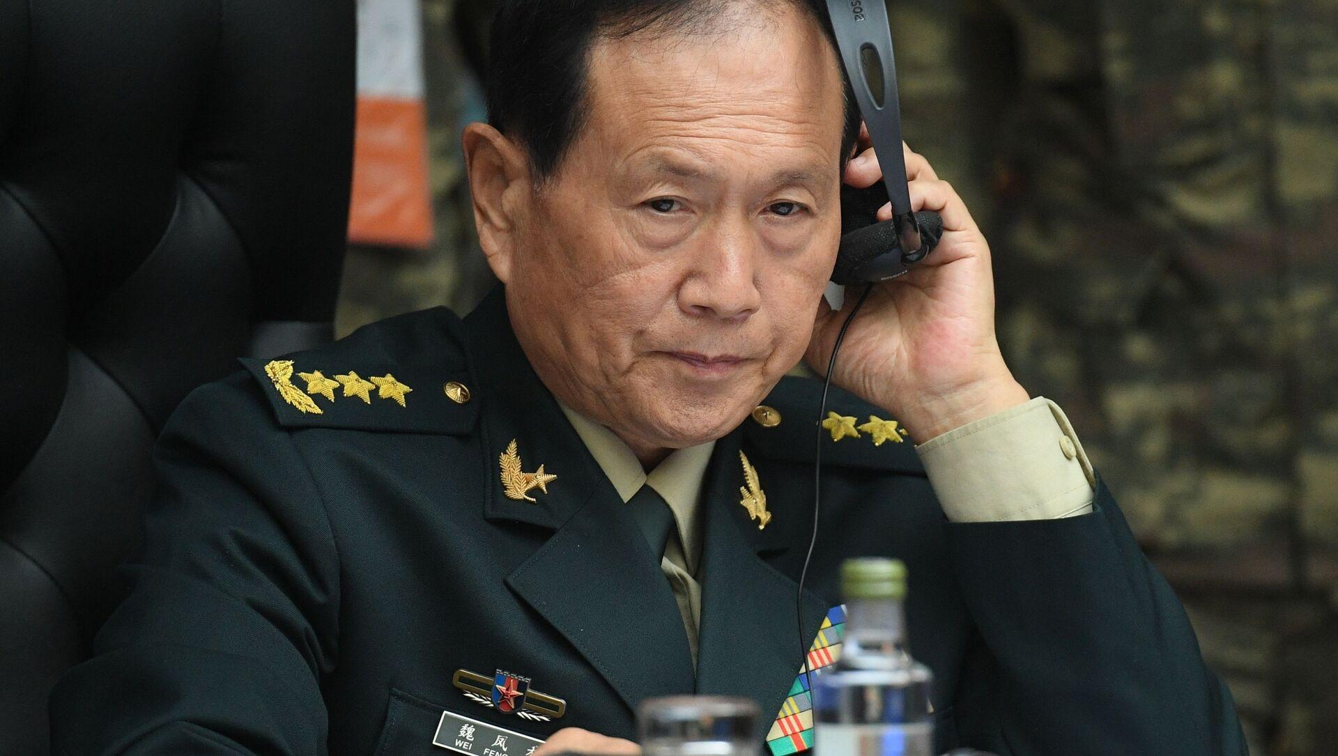 Bộ trưởng Quốc phòng Trung Quốc Wei Fenghe. - Sputnik Việt Nam, 1920, 23.06.2021