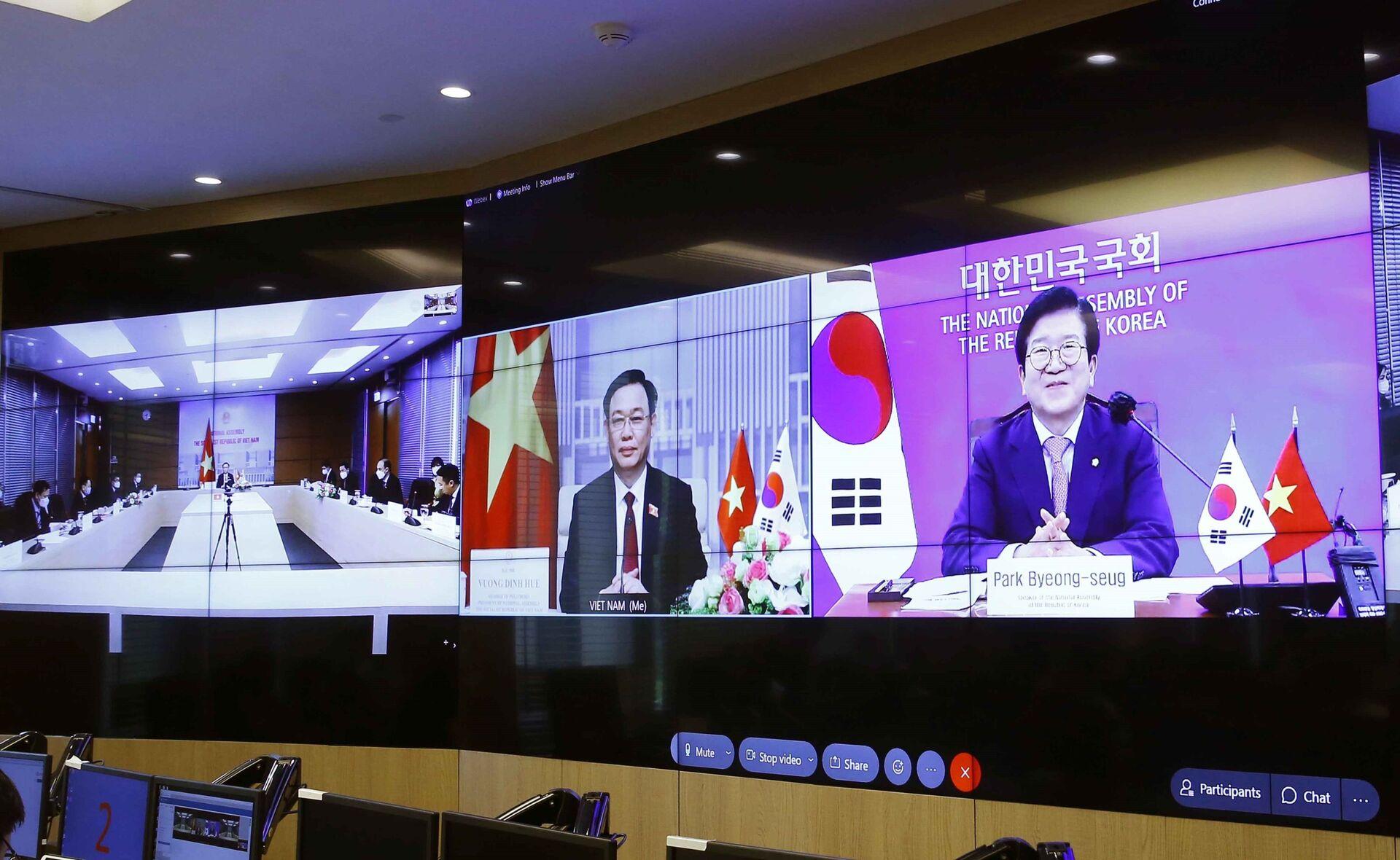 Hàn Quốc đề nghị nâng cấp quan hệ ngoại giao với Việt Nam - Sputnik Việt Nam, 1920, 23.06.2021