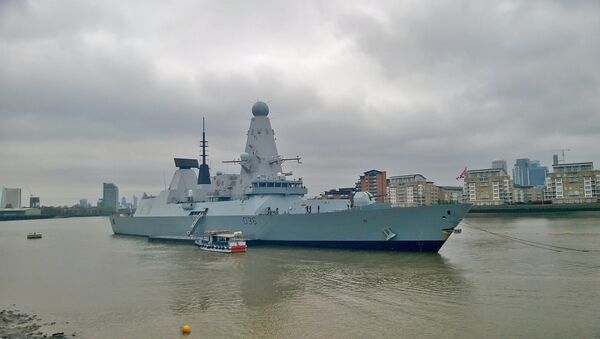 Tàu khu trục Type 45 HMS Defender của Anh. - Sputnik Việt Nam