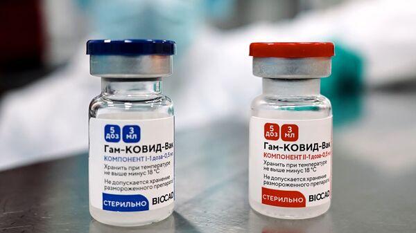 Sản xuất vắc xin Nga chống COVID-19 Sputnik V (Gam-COVID-Vac) tại St.Petersburg. - Sputnik Việt Nam