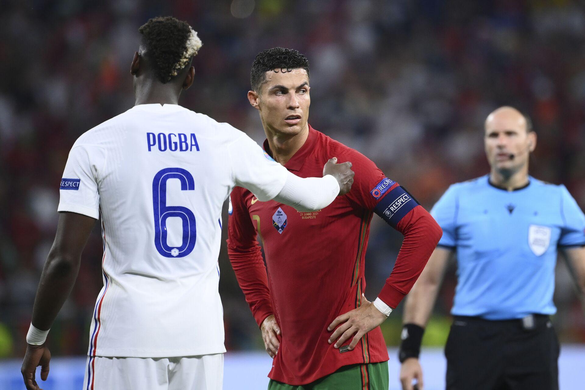 ЕURО 2020: Đội tuyển Bồ Đào Nha hòa đội tuyển Pháp với tỷ số 2:2 - Sputnik Việt Nam, 1920, 24.06.2021