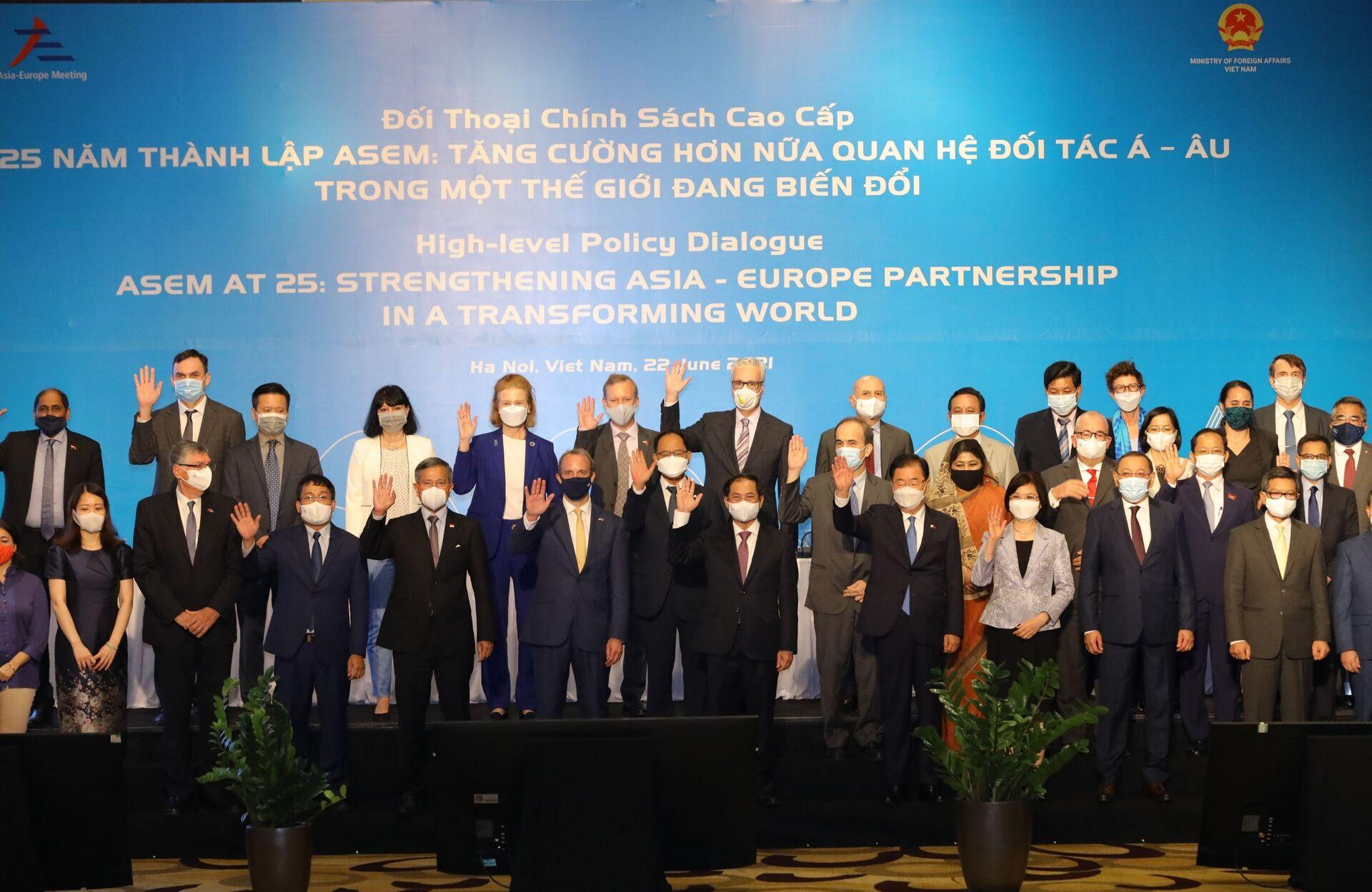 Bộ trưởng Ngoại giao tổng kết những then chốt trong Hợp tác Á-Âu - Sputnik Việt Nam, 1920, 24.06.2021