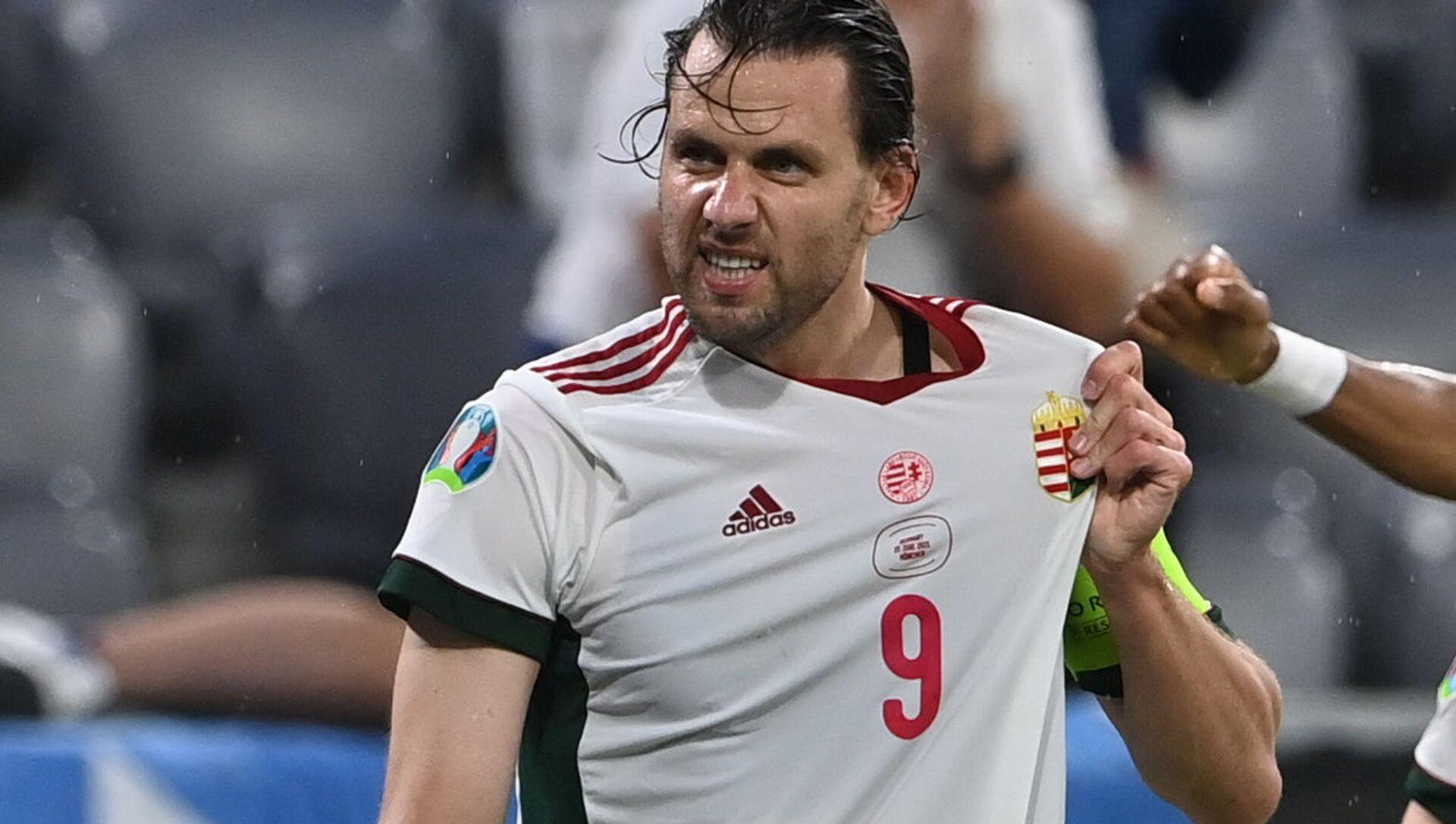 Đội trưởng đội tuyển quốc gia Hungary Adam Salai - Sputnik Việt Nam, 1920, 24.06.2021