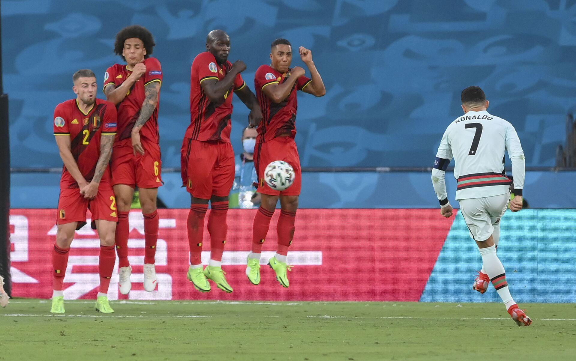 Vòng 1/8 EURO 2020: Đội Bồ Đào Nha thua đội Bỉ  - Sputnik Việt Nam, 1920, 28.06.2021