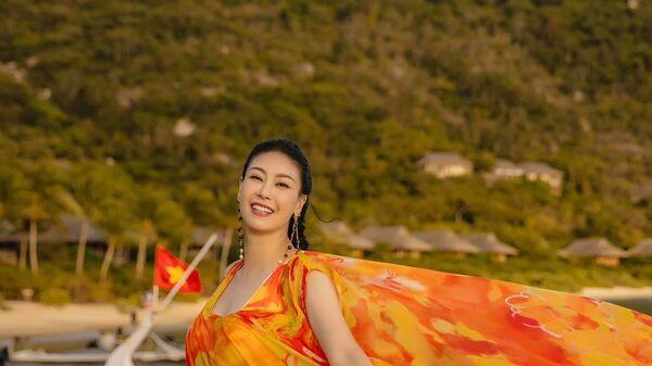 Hoa hậu Hà Kiều Anh - Sputnik Việt Nam