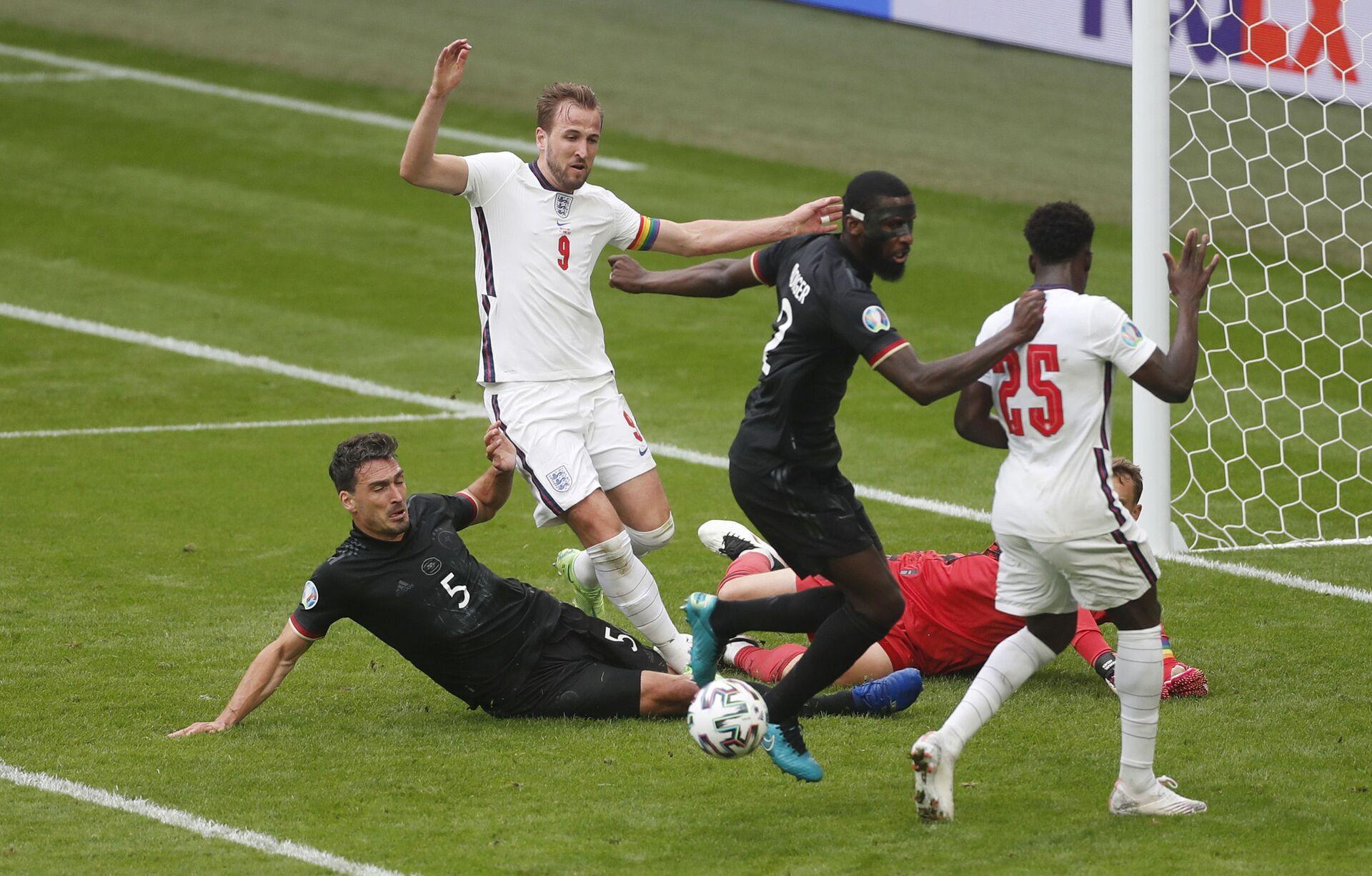 Vòng 1/8 EURO 2020: Đội Anh thắng đội Đức với tỷ số 2:0 - Sputnik Việt Nam, 1920, 30.06.2021