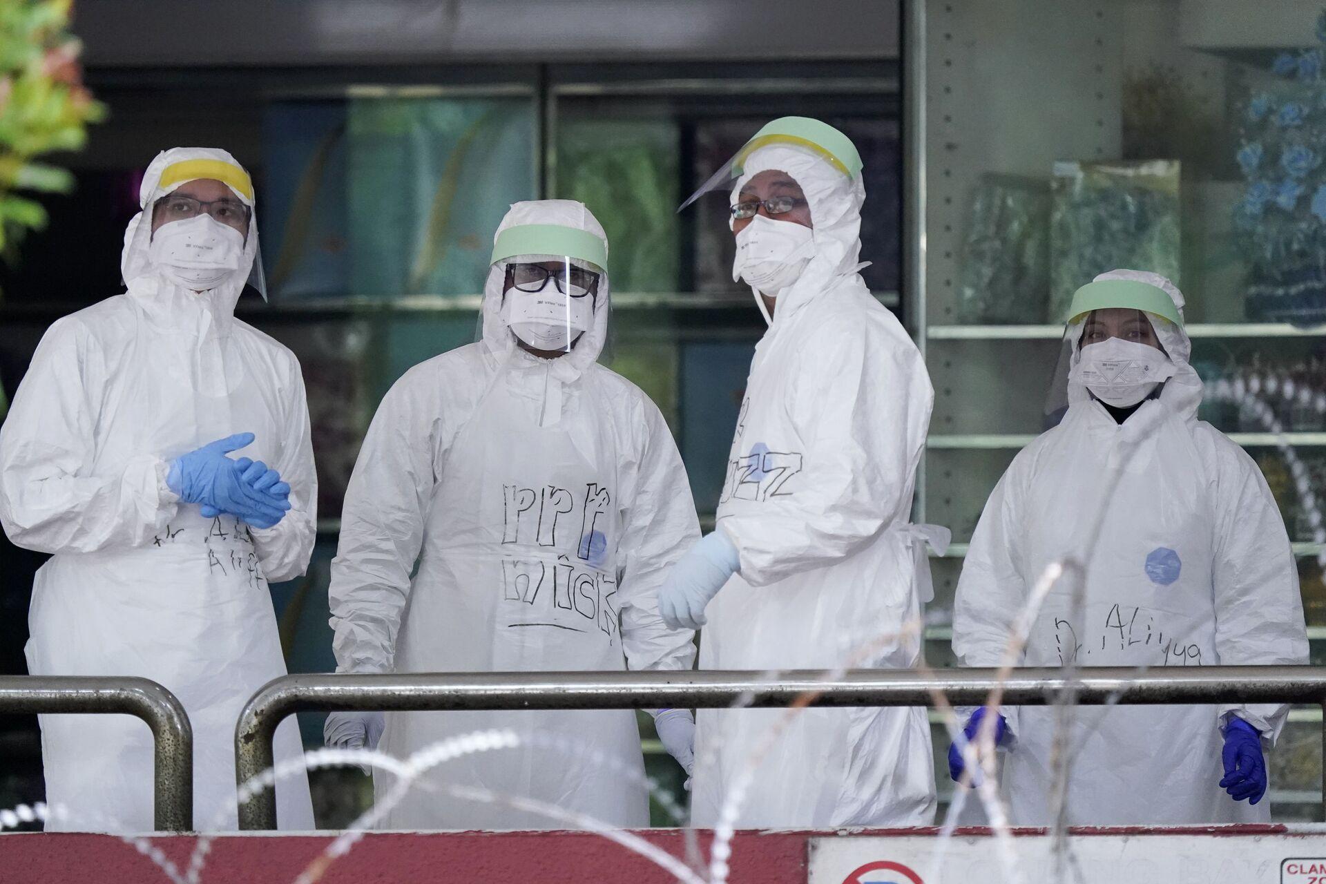 Ở những quốc gia đã kiềm chế coronavirus, xuất hiện thảm họa mới. Và dễ lây lan hơn - Sputnik Việt Nam, 1920, 30.06.2021