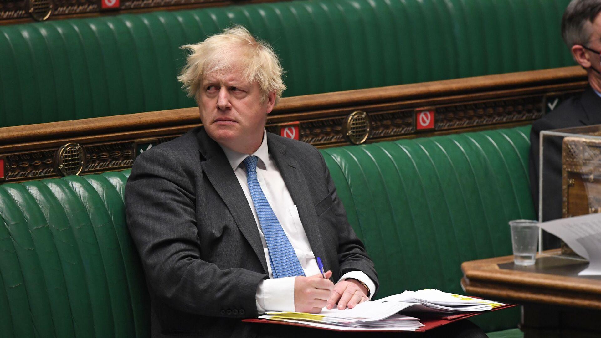 Thủ tướng Anh Boris Johnson. - Sputnik Việt Nam, 1920, 20.09.2021