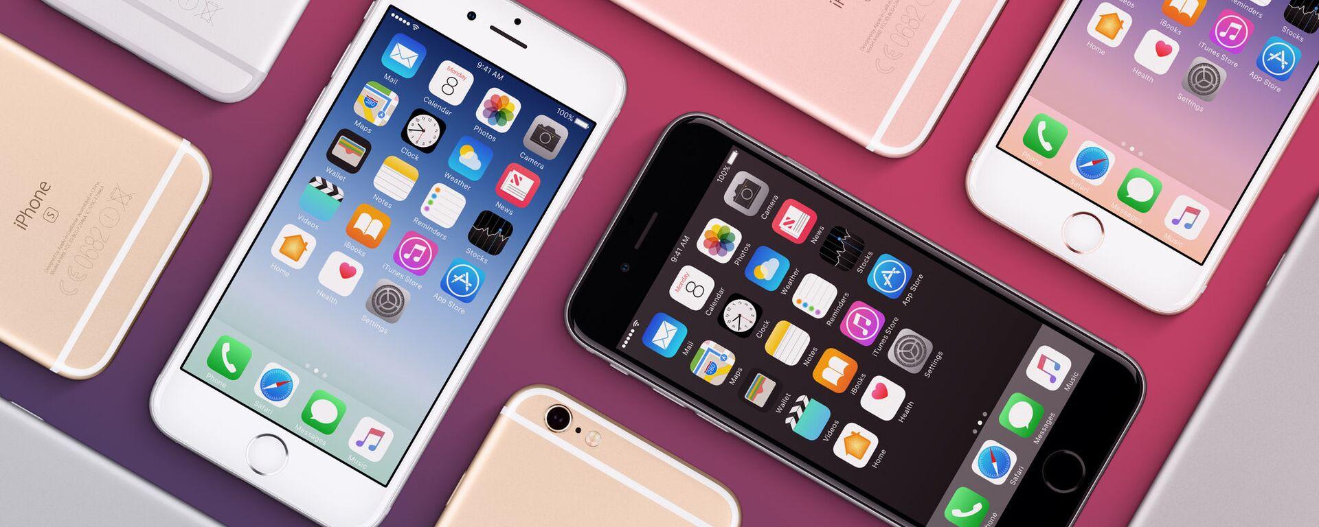 Bộ iPhone 6s các màu khác nhau của Apple - Sputnik Việt Nam, 1920, 01.07.2021