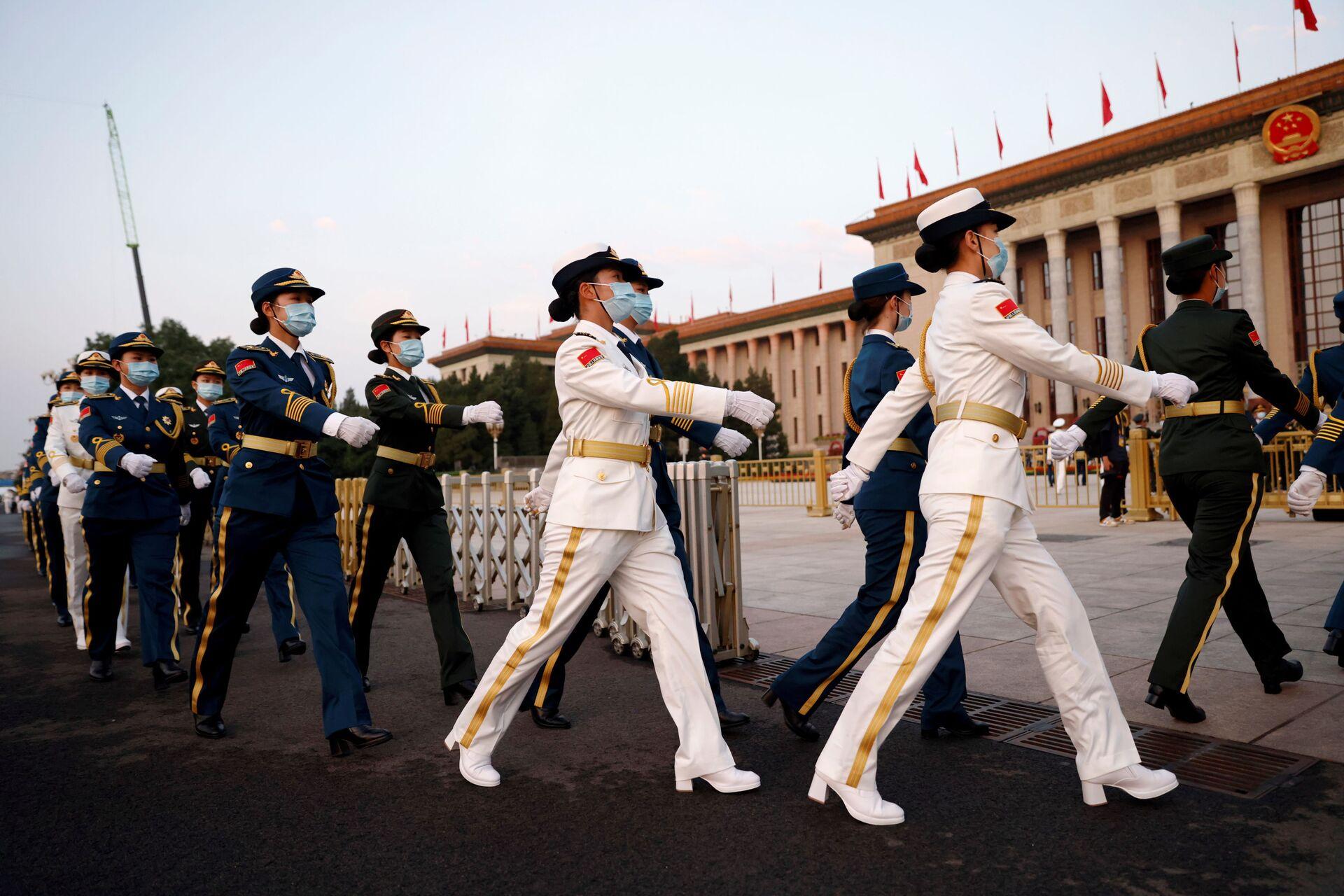 Giọng điệu hiếu chiến? Ông Tập Cận Bình nói gì về hiện đại hóa quân đội Trung Quốc - Sputnik Việt Nam, 1920, 01.07.2021