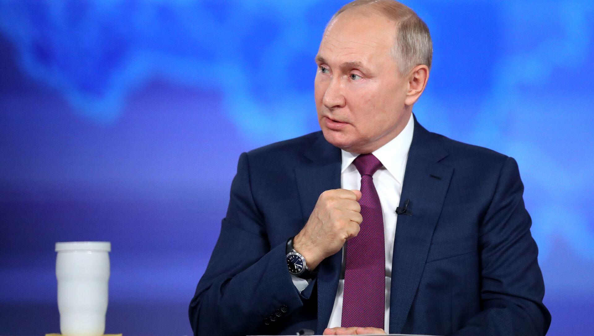 Tổng thống Nga Vladimir Putin - Sputnik Việt Nam, 1920, 01.07.2021
