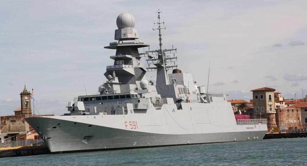 Tàu khu trục Virginio Fasan của Ý