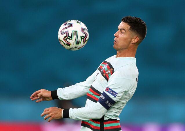 Cristiano Ronaldo tại trận Bỉ-Bồ Đào Nha, giải Euro 2020