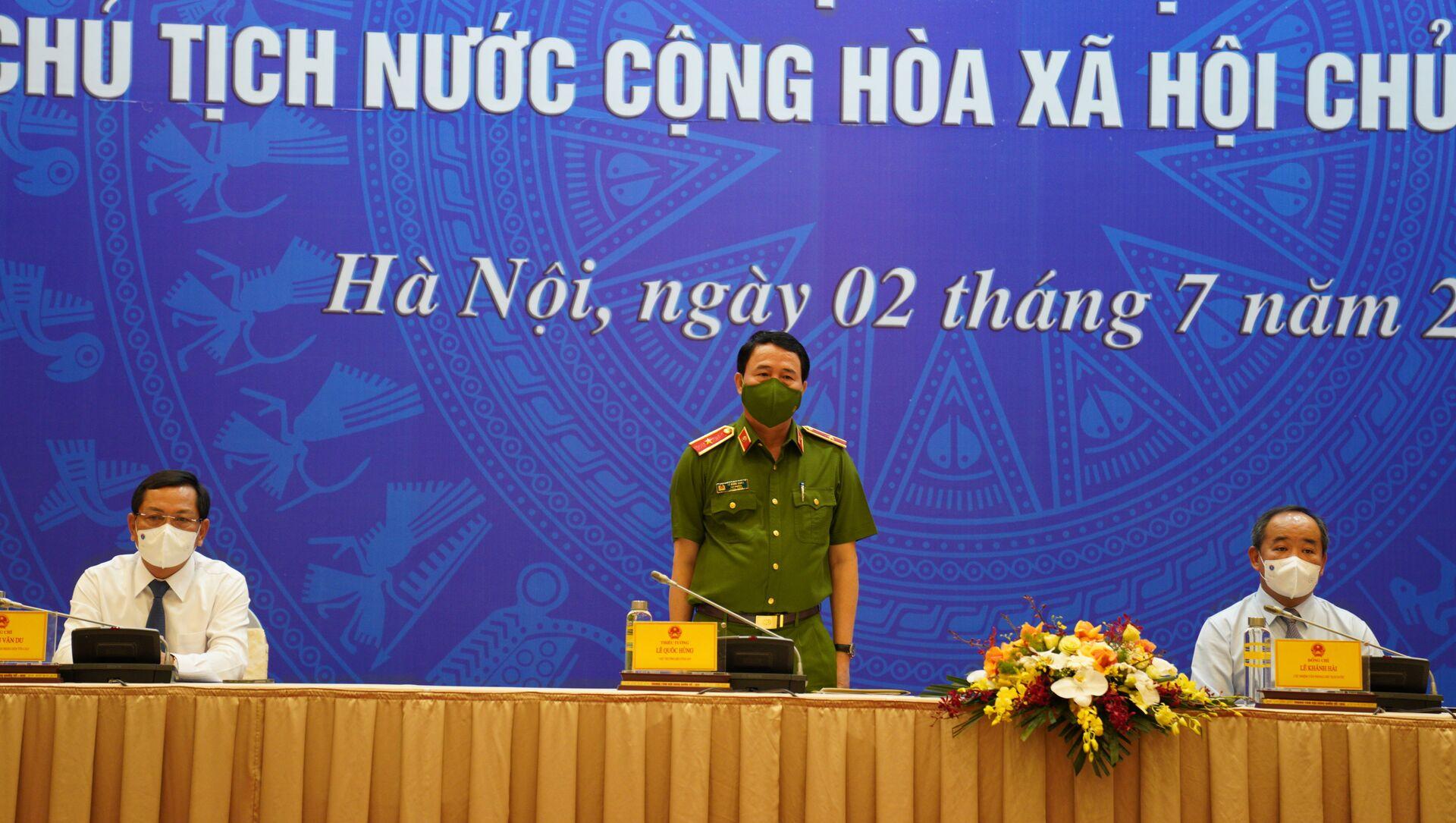 Thiếu tướng Lê Quốc Hùng, Thứ trưởng Bộ Công An - Sputnik Việt Nam, 1920, 02.07.2021