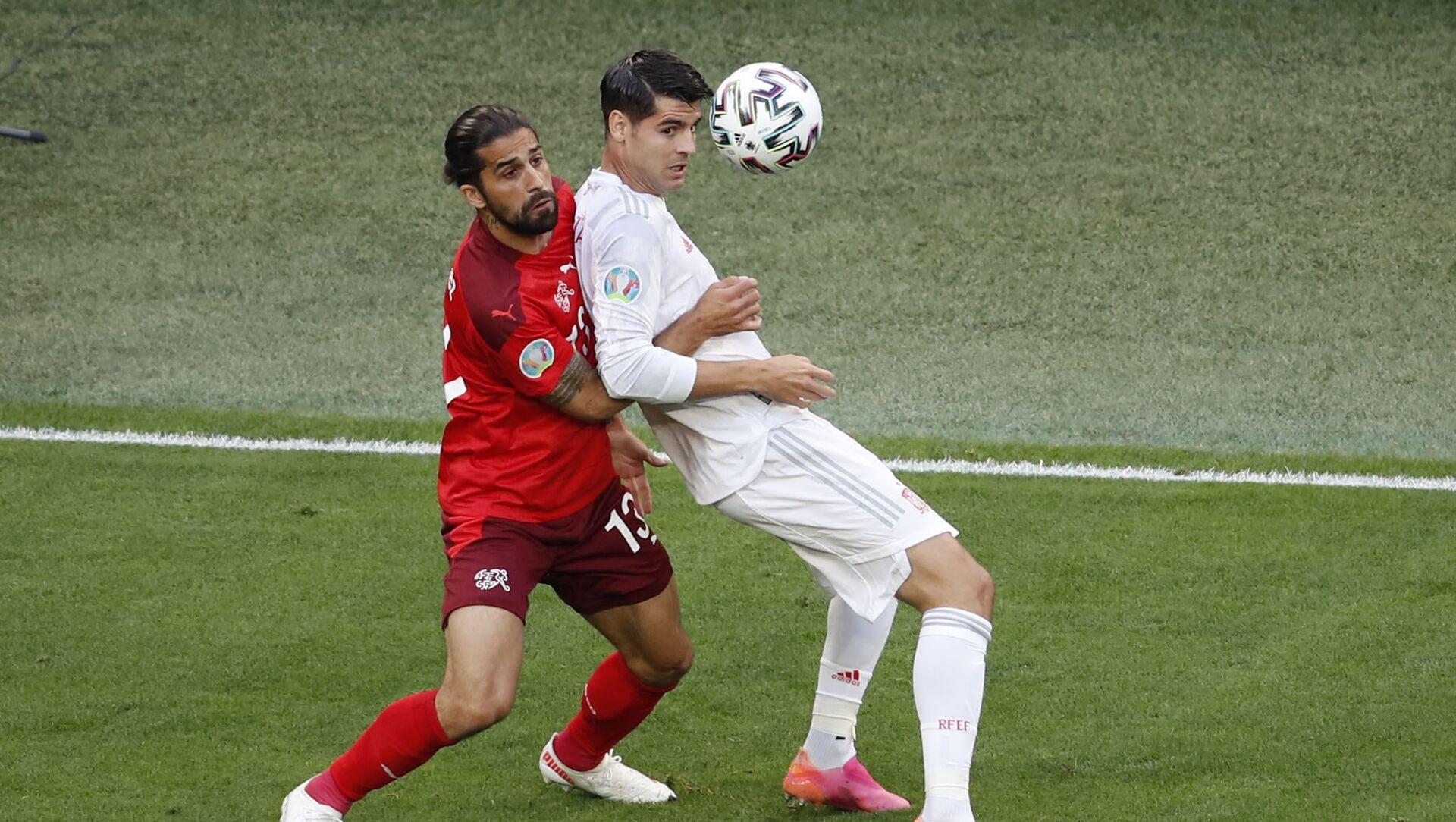 Trận đấu giữa đội tuyển quốc gia Tây Ban Nha và Thụy Sĩ tại Euro 2020 - Sputnik Việt Nam, 1920, 03.07.2021