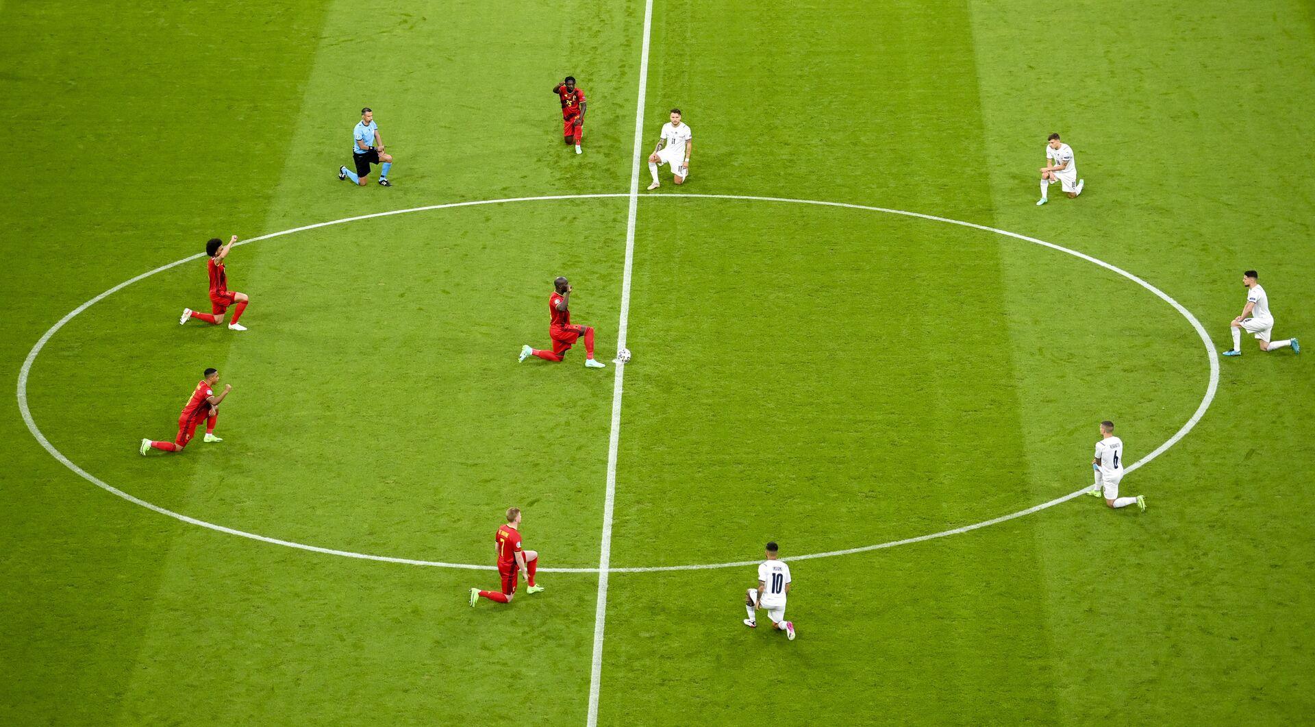 Vòng 1/4 EURO 2020: Đội Ý thắng đội Bỉ với tỷ số 2:1 - Sputnik Việt Nam, 1920, 03.07.2021