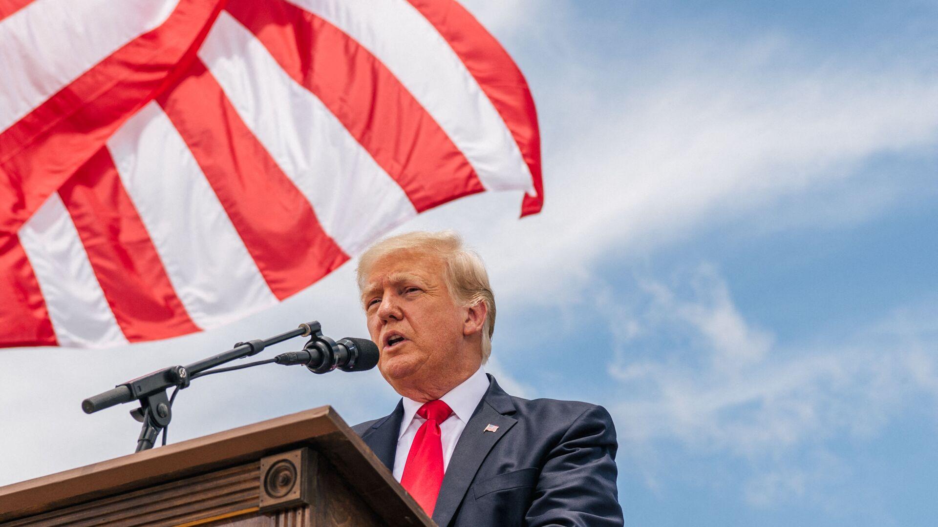 Cựu Tổng thống Hoa Kỳ Donald Trump - Sputnik Việt Nam, 1920, 05.07.2021