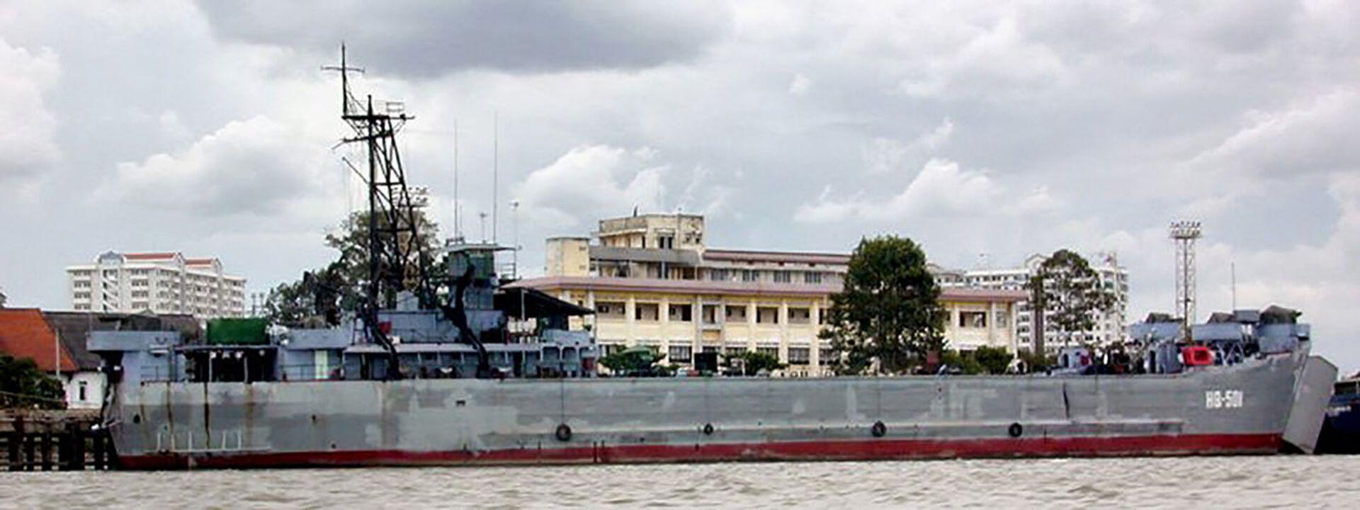 Trình độ bảo quản tàu chiến và vũ khí đáng ngạc nhiên của Hải quân nhân dân Việt Nam - Sputnik Việt Nam, 1920, 06.07.2021