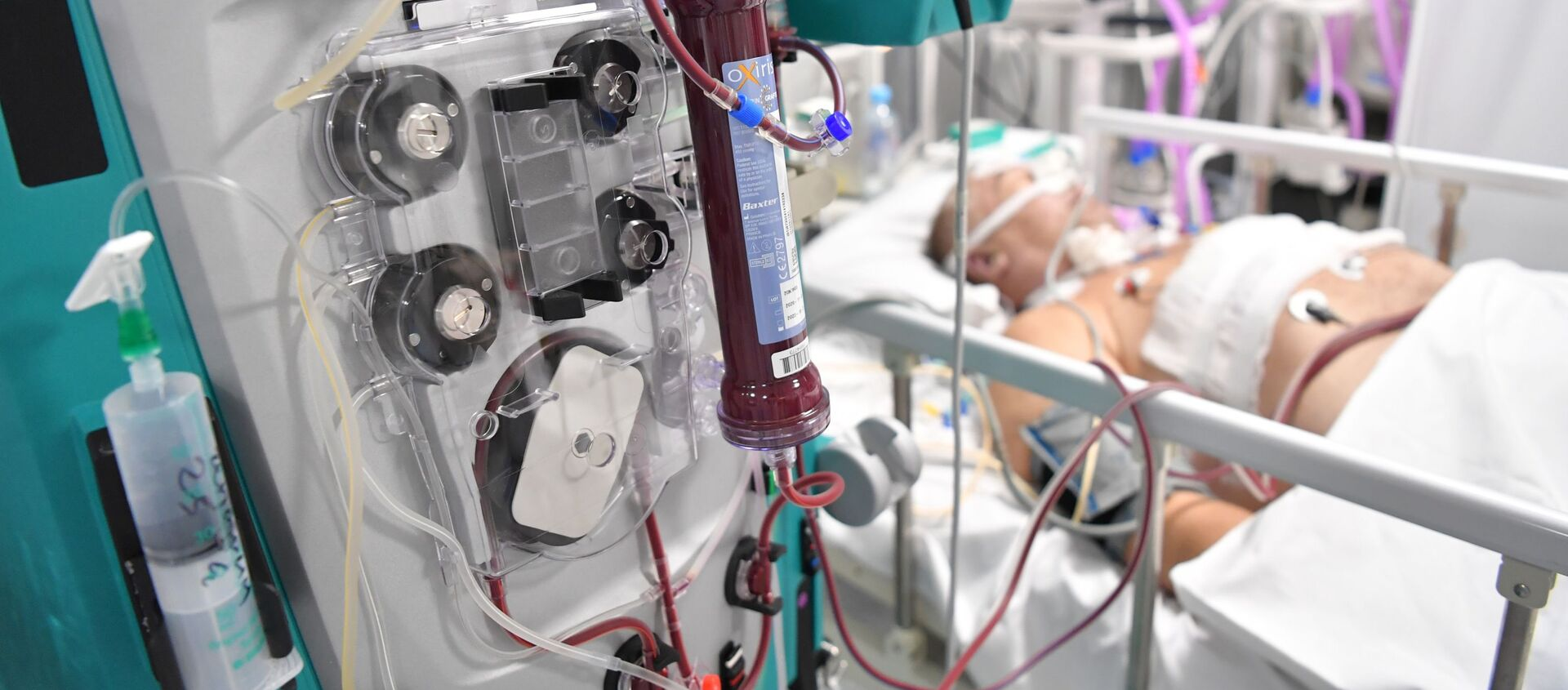 Điều trị bệnh nhân bị COVID-19 trong bệnh viện dự bị tại VDNKh - Sputnik Việt Nam, 1920, 11.09.2021
