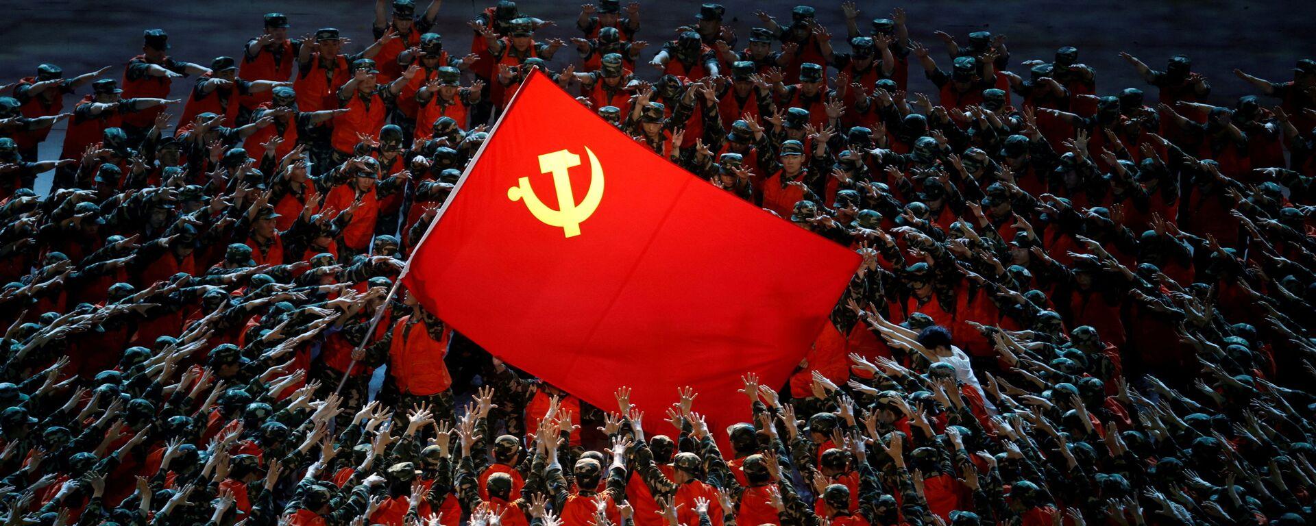 Buổi biểu diễn kỷ niệm 100 năm Đảng Cộng sản Trung Quốc tại Bắc Kinh - Sputnik Việt Nam, 1920, 06.07.2021