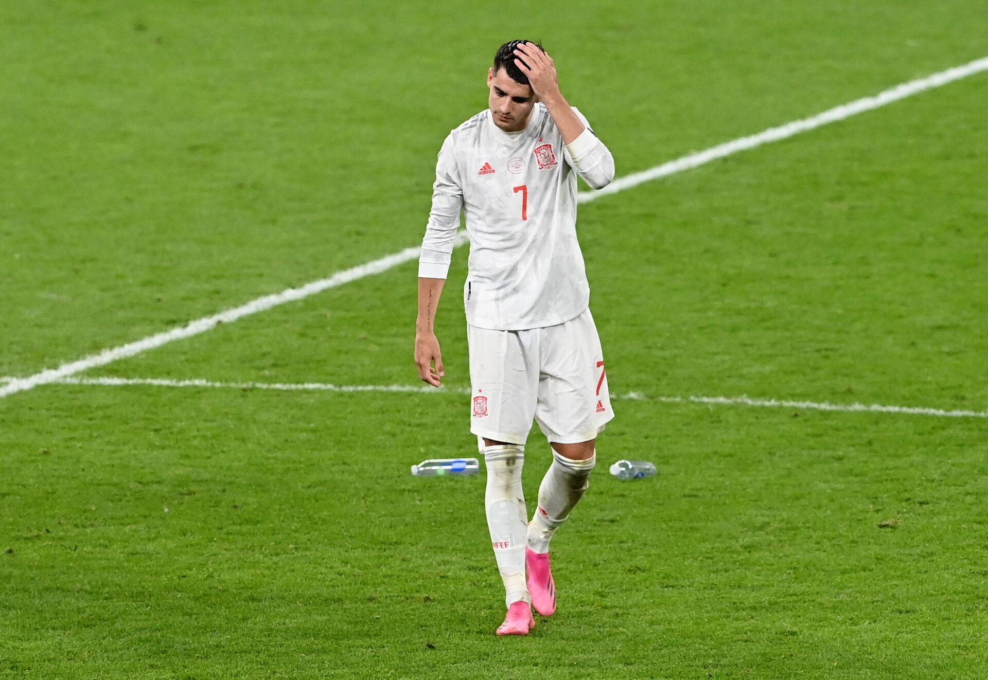 HLV Enrique đánh giá màn trình diễn của đội Tây Ban Nha tại EURO 2020 - Sputnik Việt Nam, 1920, 07.07.2021
