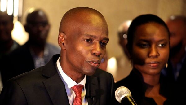 Tổng thống Haiti Jovenel Moise - Sputnik Việt Nam