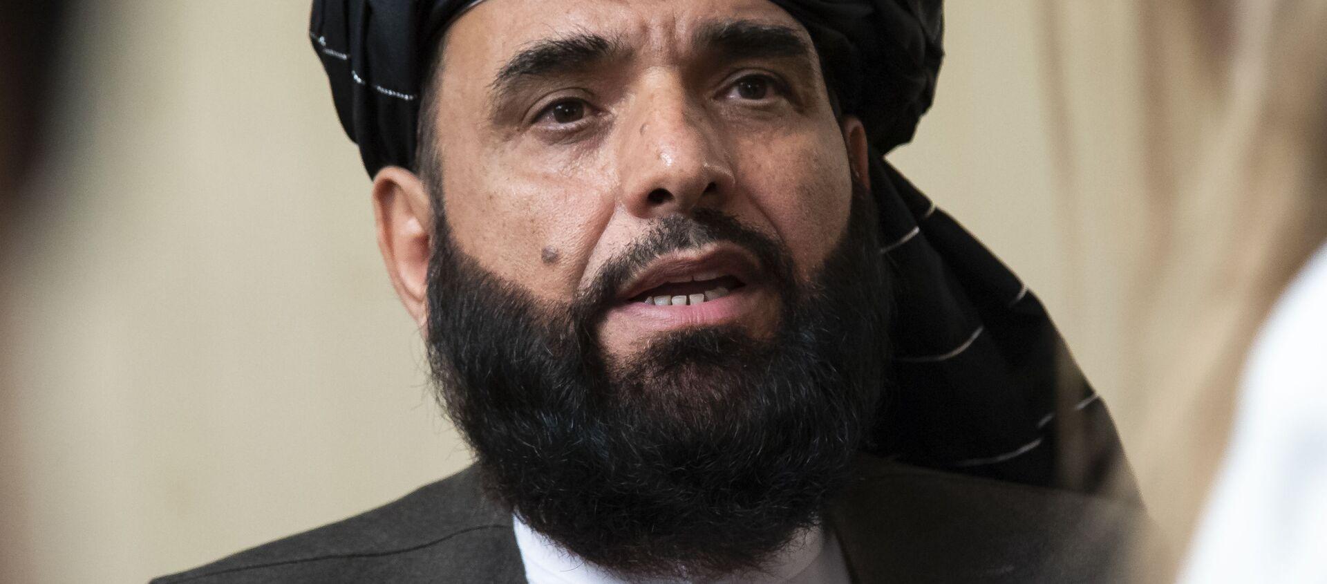 Đại diện chính thức của «Taliban» tại Qatar Suhail Shaheen - Sputnik Việt Nam, 1920, 07.07.2021