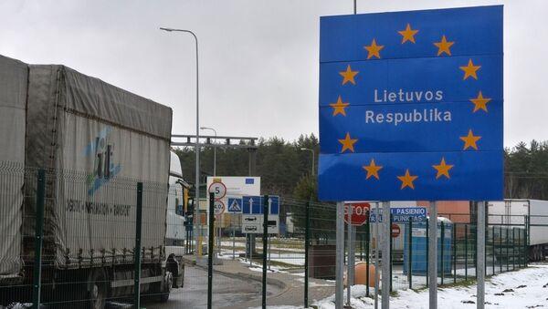 Biên giới Litva-Belarus - Sputnik Việt Nam