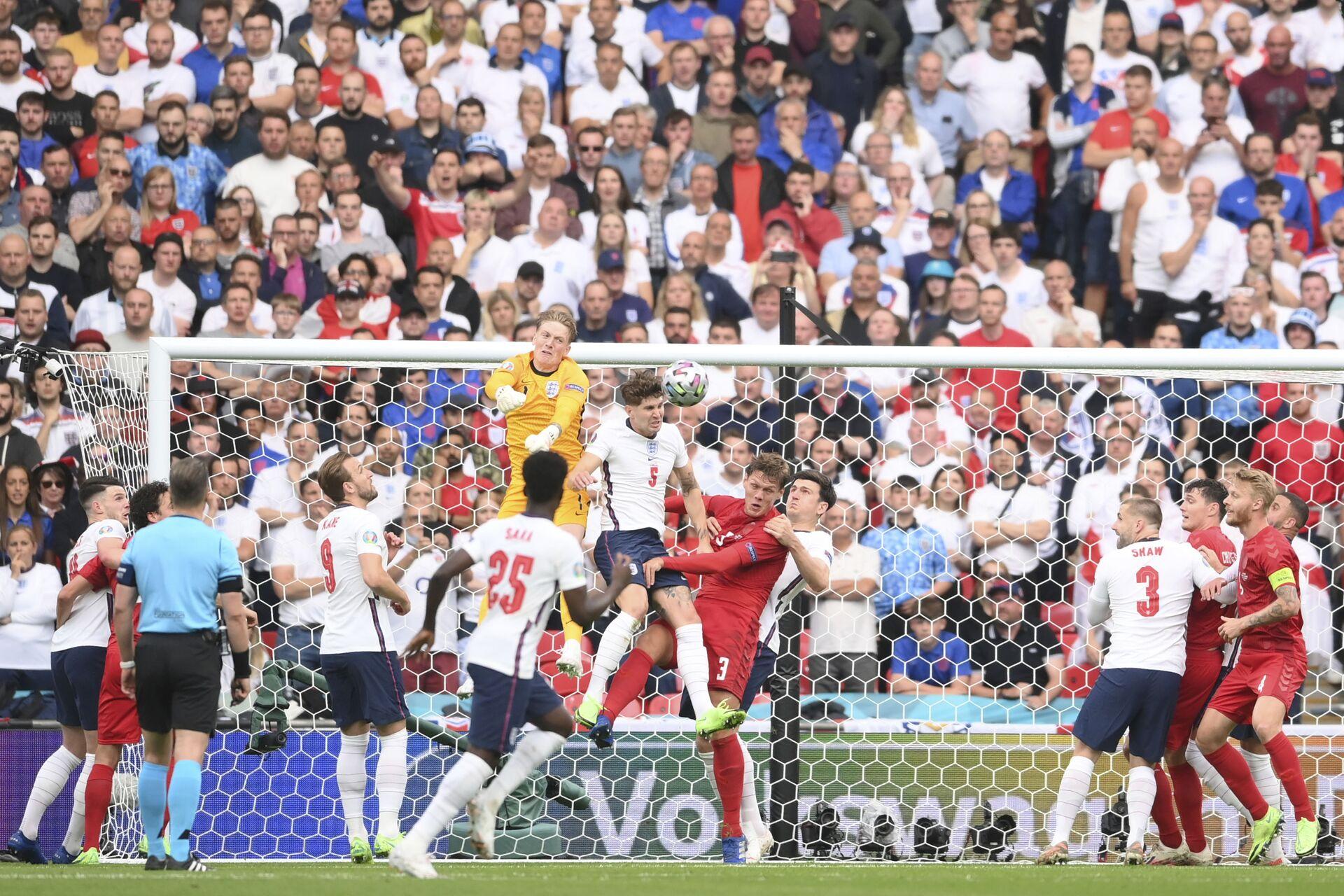 EURO 2020: Đội Anh đánh bại đội Đan Mạch và giành quyền vào chung kết - Sputnik Việt Nam, 1920, 08.07.2021