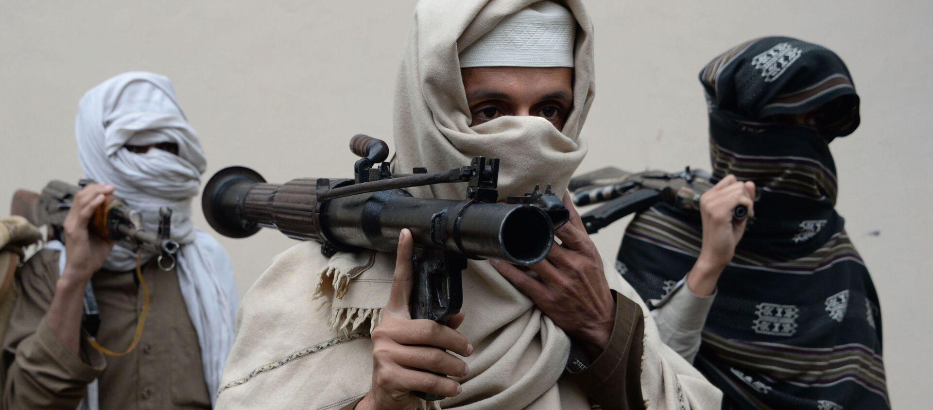 Các cựu thành viên của Taliban ở Afghanistan - Sputnik Việt Nam, 1920, 24.07.2021