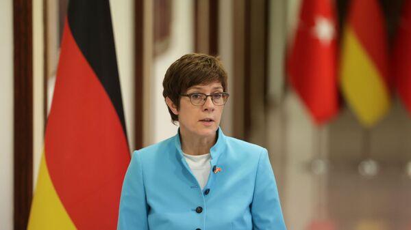 Bộ trưởng Quốc phòng Đức Annegret Kramp-Karrenbauer - Sputnik Việt Nam