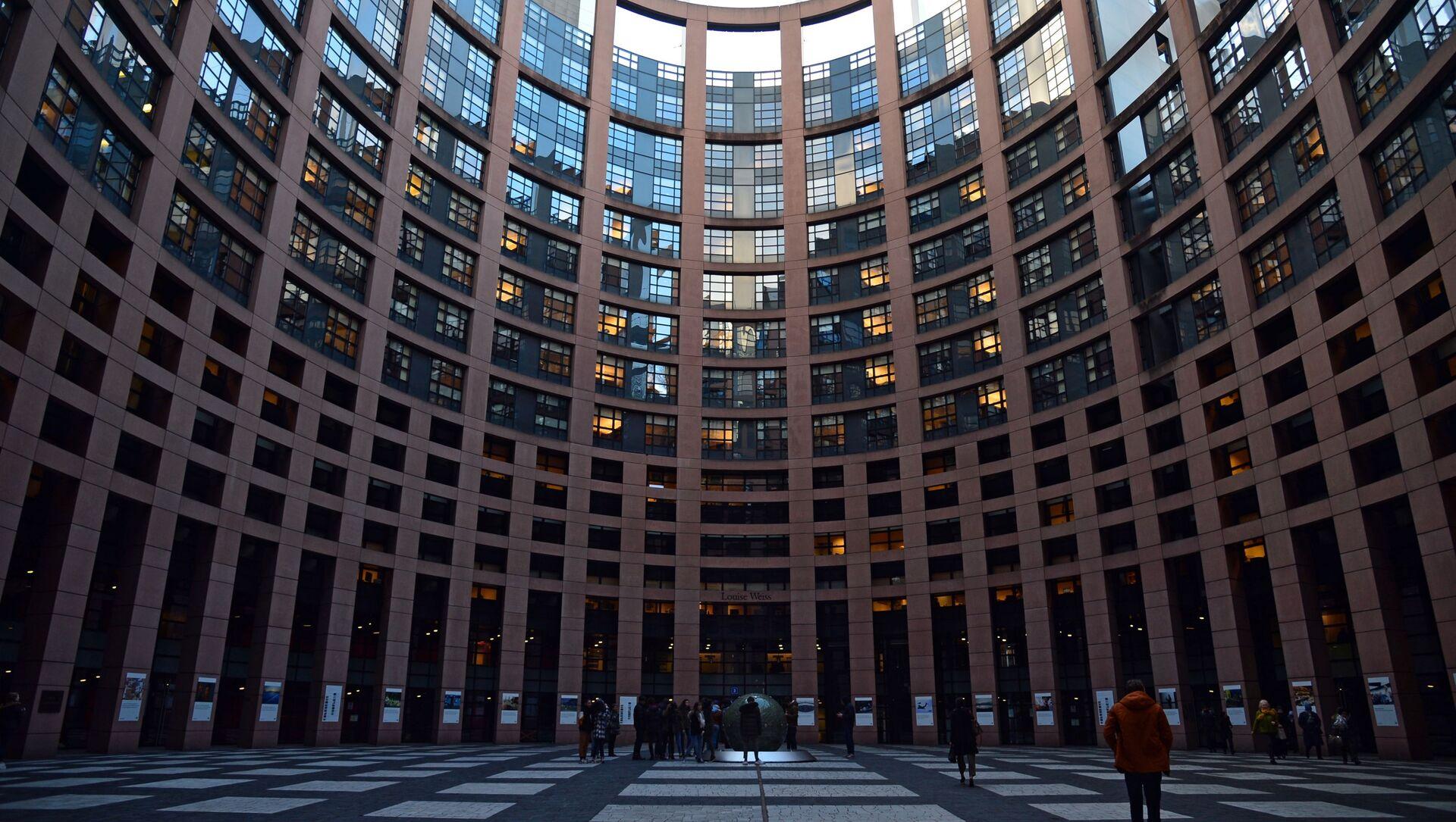 Tòa nhà chính của Nghị viện Châu Âu ở Strasbourg - Sputnik Việt Nam, 1920, 13.09.2021